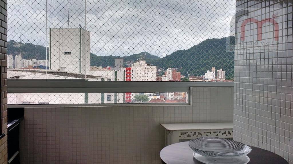 apartamento residencial à venda, vila belmiro, santos. - codigo: ap1750 - ap1750