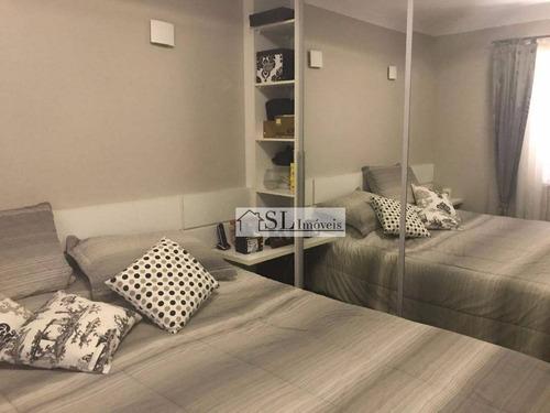 apartamento residencial à venda, vila brandina, campinas. - ap0517