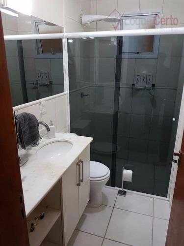 apartamento residencial à venda, vila brizzola, indaiatuba. - ap0159