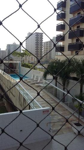 apartamento  residencial à venda, vila caiçara, praia grande. - ap0552
