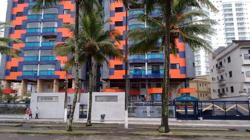 apartamento  residencial à venda, vila caiçara, praia grande. - ap0600