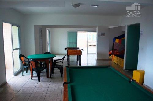 apartamento residencial à venda, vila caiçara, praia grande. - ap1316