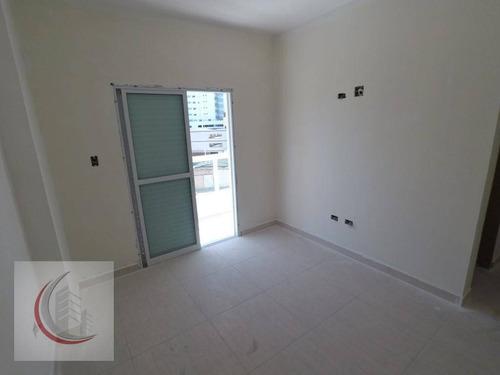 apartamento residencial à venda, vila caiçara, praia grande. - ap1767
