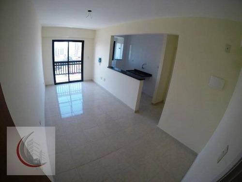 apartamento residencial à venda, vila caiçara, praia grande. - ap2016