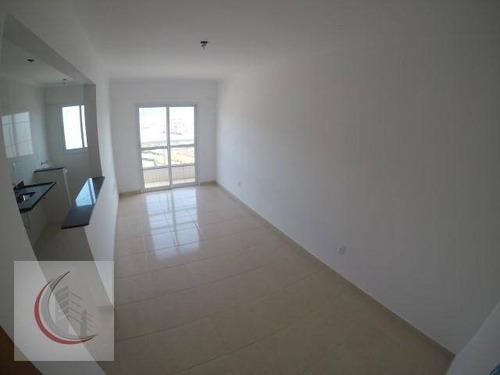 apartamento residencial à venda, vila caiçara, praia grande. - ap2019