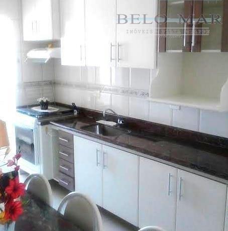 apartamento  residencial à venda, vila caiçara, praia grande. - codigo: ap0838 - ap0838