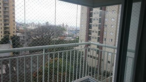 apartamento residencial à venda, vila camilópolis, santo andré. - ap1044