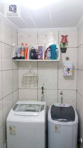 apartamento residencial à venda, vila camilópolis, santo andré. - ap7448