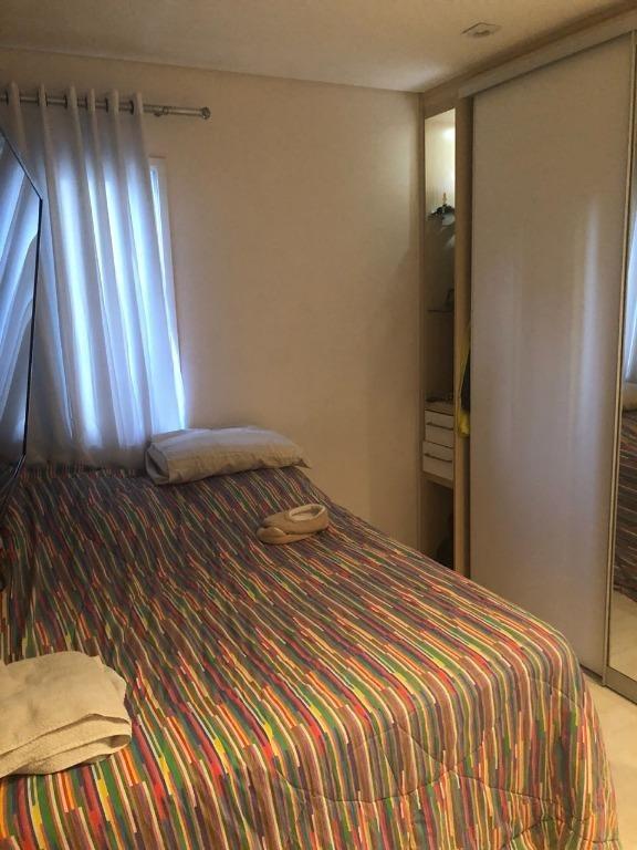apartamento residencial à venda, vila caminho do mar, são bernardo do campo. - ap58809