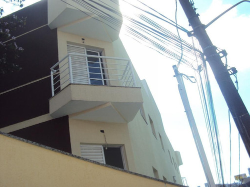 apartamento  residencial à venda, vila curuçá, santo andré. - ap0293