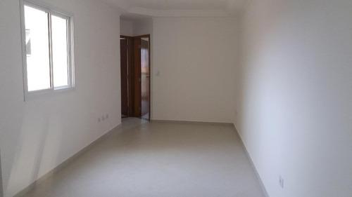 apartamento residencial à venda, vila curuçá, santo andré. - ap1167