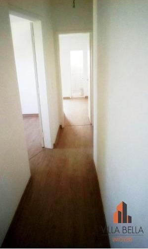 apartamento  residencial à venda, vila curuçá, santo andré. - ap2543