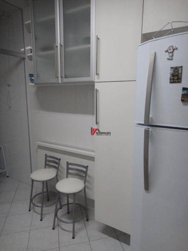 apartamento residencial à venda, vila das bandeiras, guarulhos. - ap0199