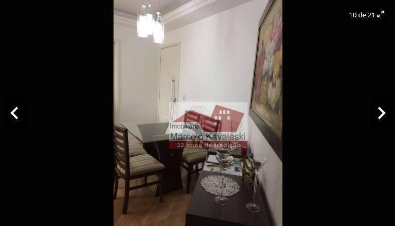apartamento residencial à venda, vila das mercês, são paulo. - ap6911