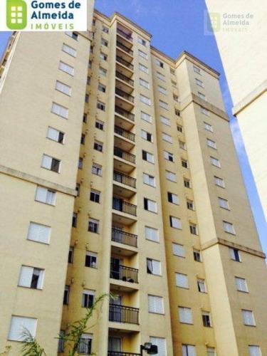 apartamento residencial à venda, vila eldízia, santo andré - ap0693. - ap0693