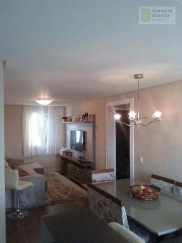 apartamento residencial à venda, vila eldízia, santo andré - ap2106. - ap2106