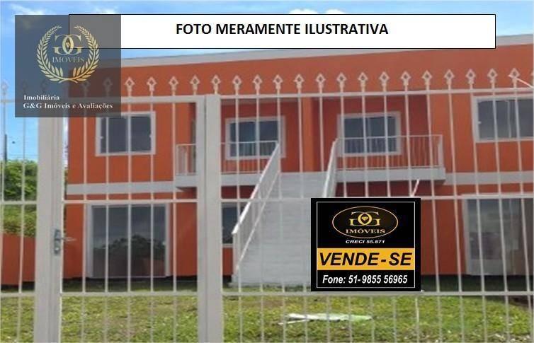 apartamento residencial à venda, vila elsa, viamão. - ap0042