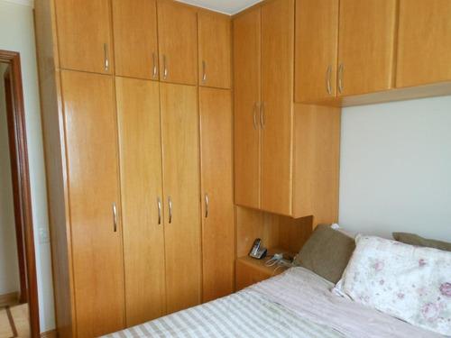 apartamento residencial à venda, vila ema, são paulo. - codigo: ap0076 - ap0076