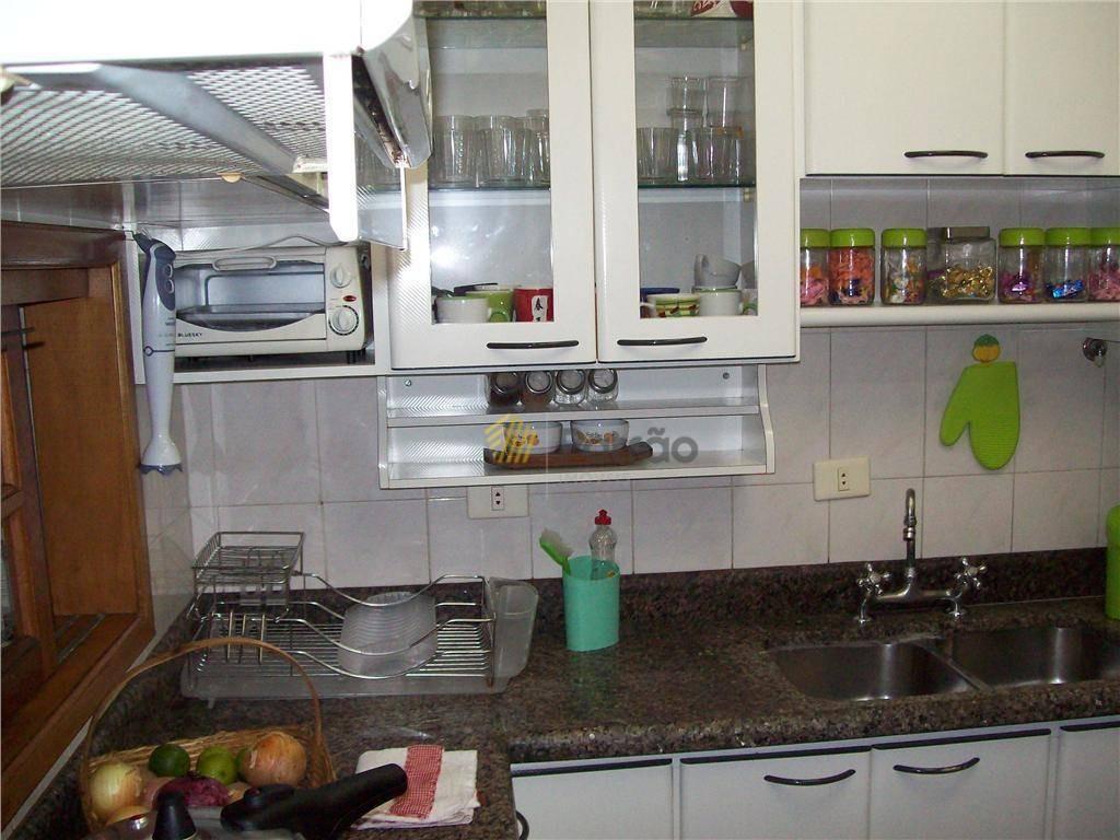 apartamento residencial à venda, vila euclides, são bernardo do campo. - ap0194