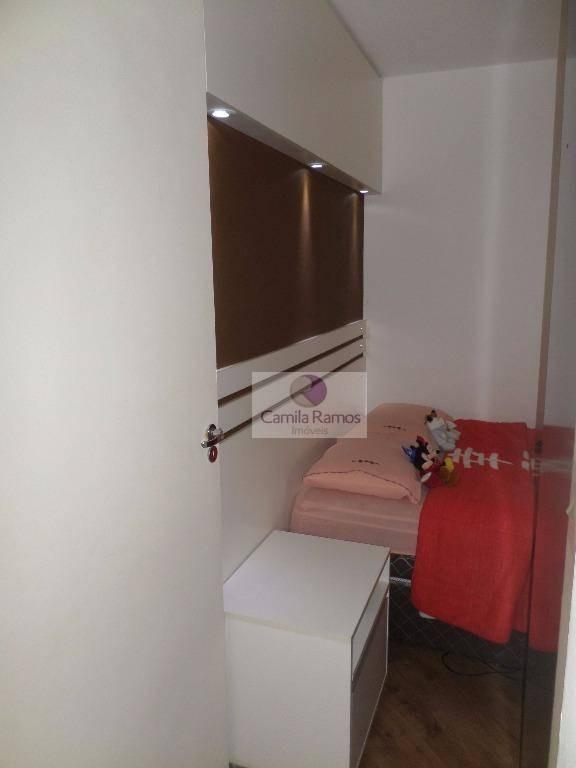 apartamento residencial à venda, vila figueira, suzano. - ap0213