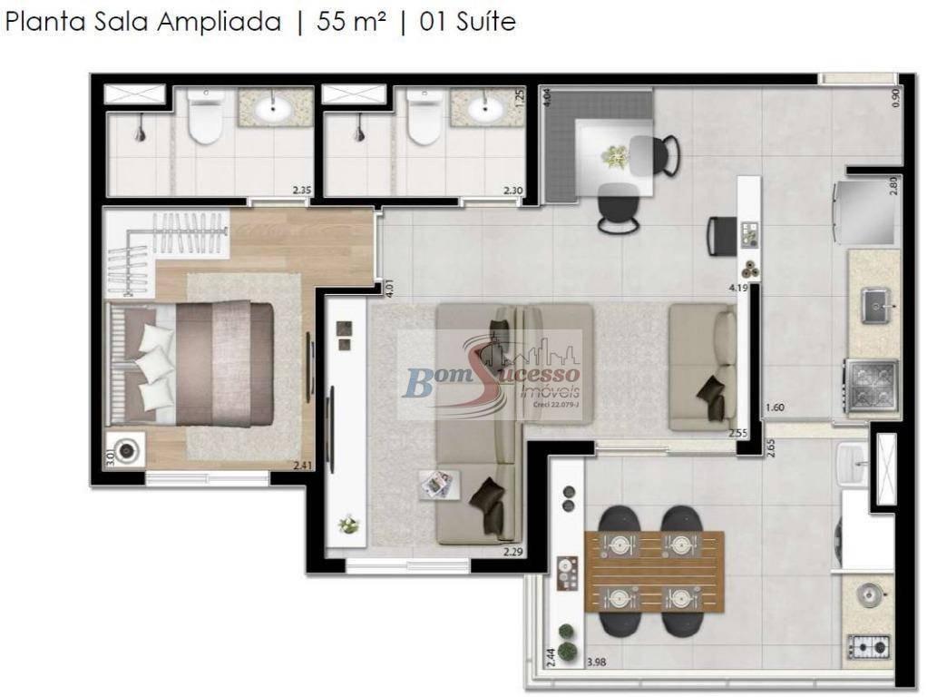 apartamento residencial à venda, vila formosa, são paulo. - ap1679