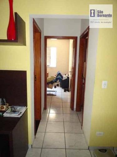 apartamento residencial à venda, vila frezzarin, americana. - ap0127