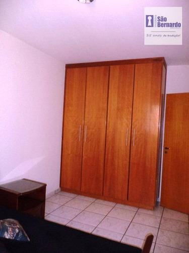 apartamento residencial à venda, vila frezzarin, americana. - ap0464