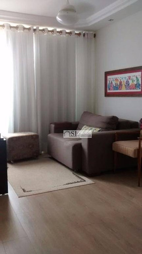 apartamento residencial à venda, vila georgina, campinas. - ap0326