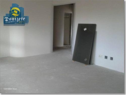 apartamento residencial à venda, vila gilda, santo andré. - ap2350