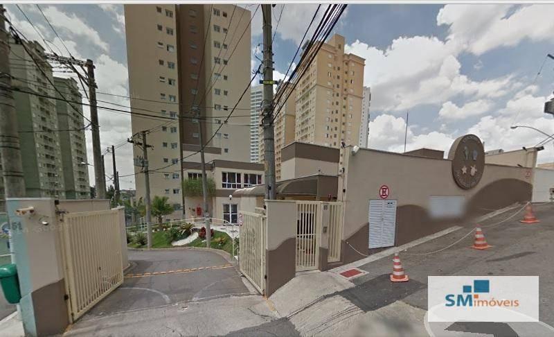 apartamento residencial à venda, vila gonçalves, são bernardo do campo. - ap0134
