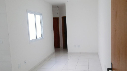 apartamento residencial à venda, vila guarani, santo andré. - ap1431