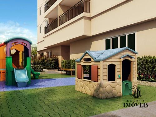 apartamento residencial à venda, vila guarani(zona sul), são paulo. - ap1124