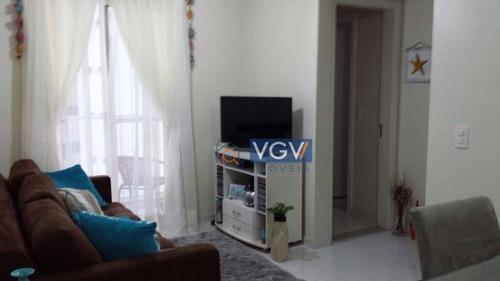 apartamento residencial à venda, vila guarani(zona sul), são paulo. - ap1708
