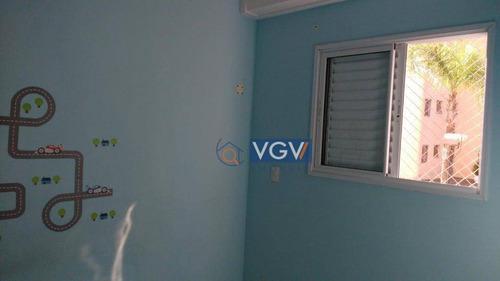 apartamento residencial à venda, vila guarani(zona sul), são paulo. - ap2241