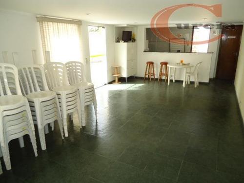 apartamento residencial à venda, vila guarani(zona sul), são paulo - ap3533. - ap3533