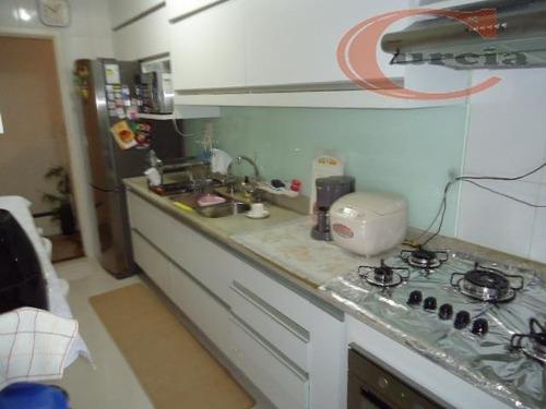 apartamento residencial à venda, vila guarani(zona sul), são paulo. - ap3820