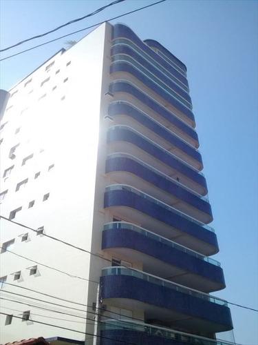 apartamento residencial à venda, vila guilhermina, praia grande - ap0123. - ap0123