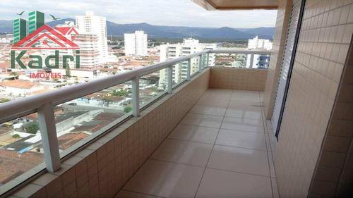 apartamento residencial à venda, vila guilhermina, praia grande. - ap0139