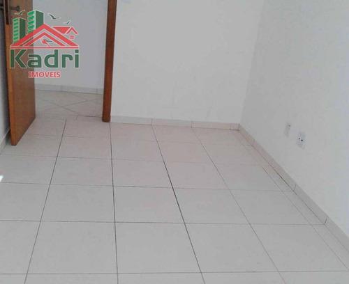 apartamento residencial à venda, vila guilhermina, praia grande. - ap0222