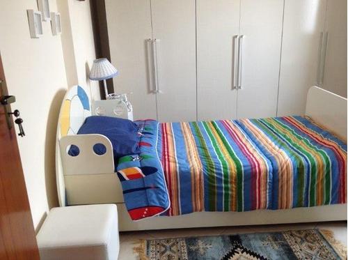 apartamento  residencial à venda, vila guilhermina, praia grande. - ap0264