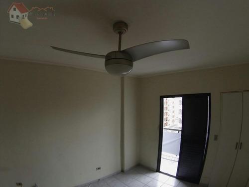 apartamento residencial à venda, vila guilhermina, praia grande - ap0349. - ap0349