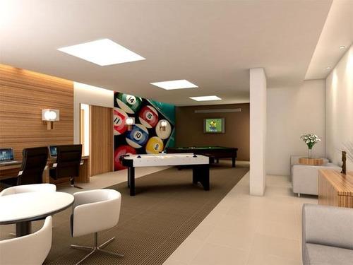 apartamento  residencial à venda, vila guilhermina, praia grande. - ap0356