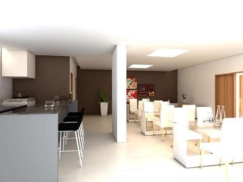 apartamento  residencial à venda, vila guilhermina, praia grande. - ap0357