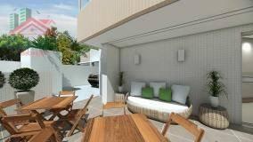 apartamento residencial à venda, vila guilhermina, praia grande. - ap0590