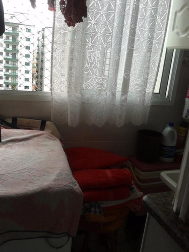 apartamento  residencial à venda, vila guilhermina, praia grande. - ap0631