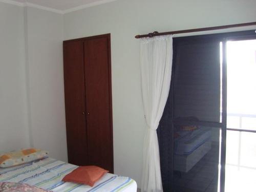 apartamento  residencial à venda, vila guilhermina, praia grande. - ap0636