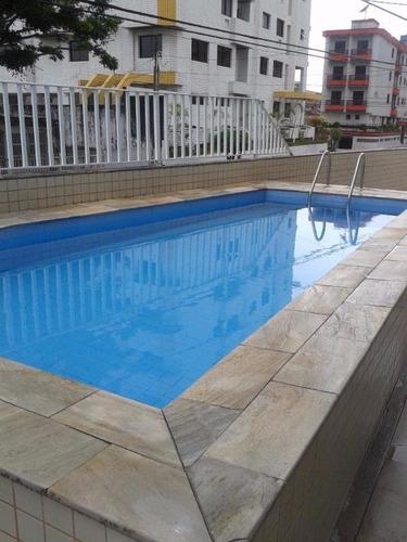 apartamento  residencial à venda, vila guilhermina, praia grande. - ap0651