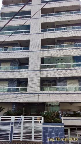apartamento  residencial à venda, vila guilhermina, praia grande. - ap0657