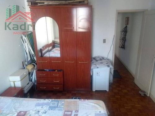 apartamento residencial à venda, vila guilhermina, praia grande. - ap0677