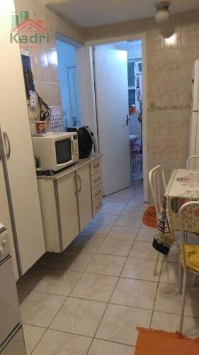 apartamento residencial à venda, vila guilhermina, praia grande. - ap0773